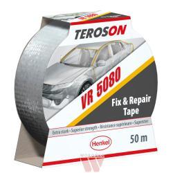 Teroson VR 5080 -50mm x 25m (taśma klejąca, srebrna) (IDH.801959)